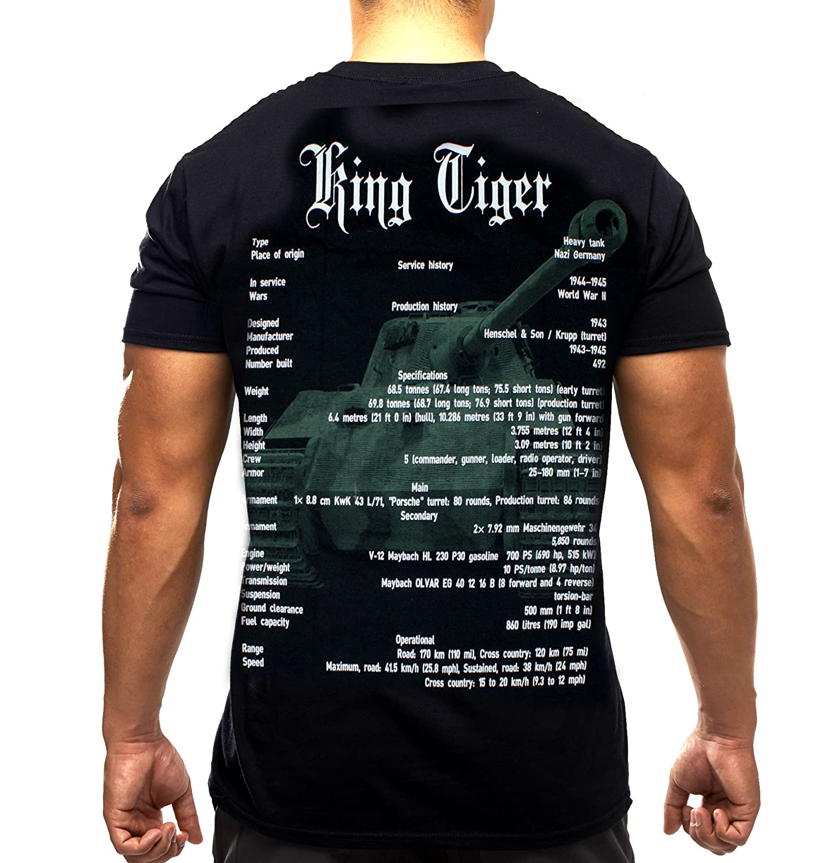 Tiger Mens White King T Shirtlarge sdtCxhQr