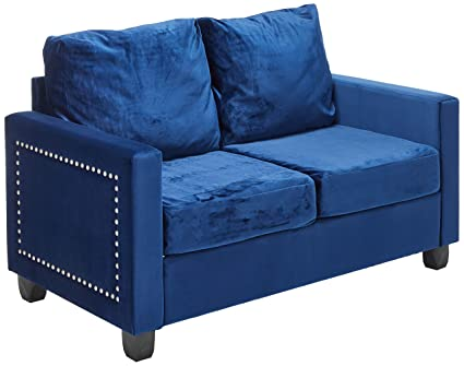 Surprising Amazon Com Kings Brand Furniture Velvet Upholstered Onthecornerstone Fun Painted Chair Ideas Images Onthecornerstoneorg