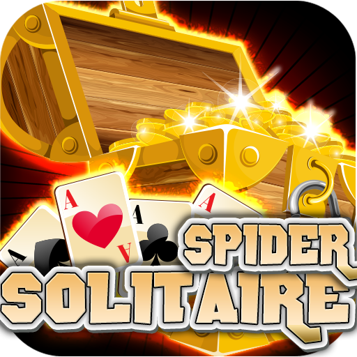 Gold Coin Treasures Classic Spider Solitaire Free for Kindle Fire 2015 New Spider Solitaire Games Free Casino Blitz Total Cards Domination Best spider solitaire offline games for vacation! (Best Solitaire Android Tablet)