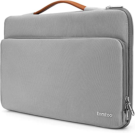 tomtoc 15 Inch Laptop Sleeve Case compatible with 16 inch MacBook Pro 2019, 15 inch MacBook Pro A1938, 15 inch Surface Book, Dell XPS 15, Briefcase