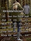 DOSWODE Men Waterproof Raincoat Hooded Windbreaker