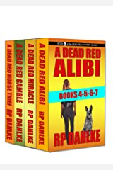 THE DEAD RED MYSTERY SERIES-Books 4-5-6-7: The Lalla Bains Humorous Mysteries Kindle Edition