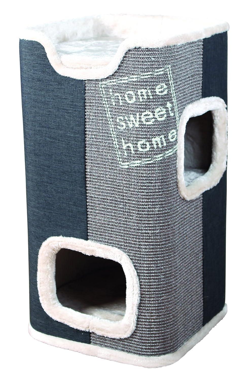 Trixie Jorge Cat Tower, 78 cm Diameter, Light Grey Anthracite