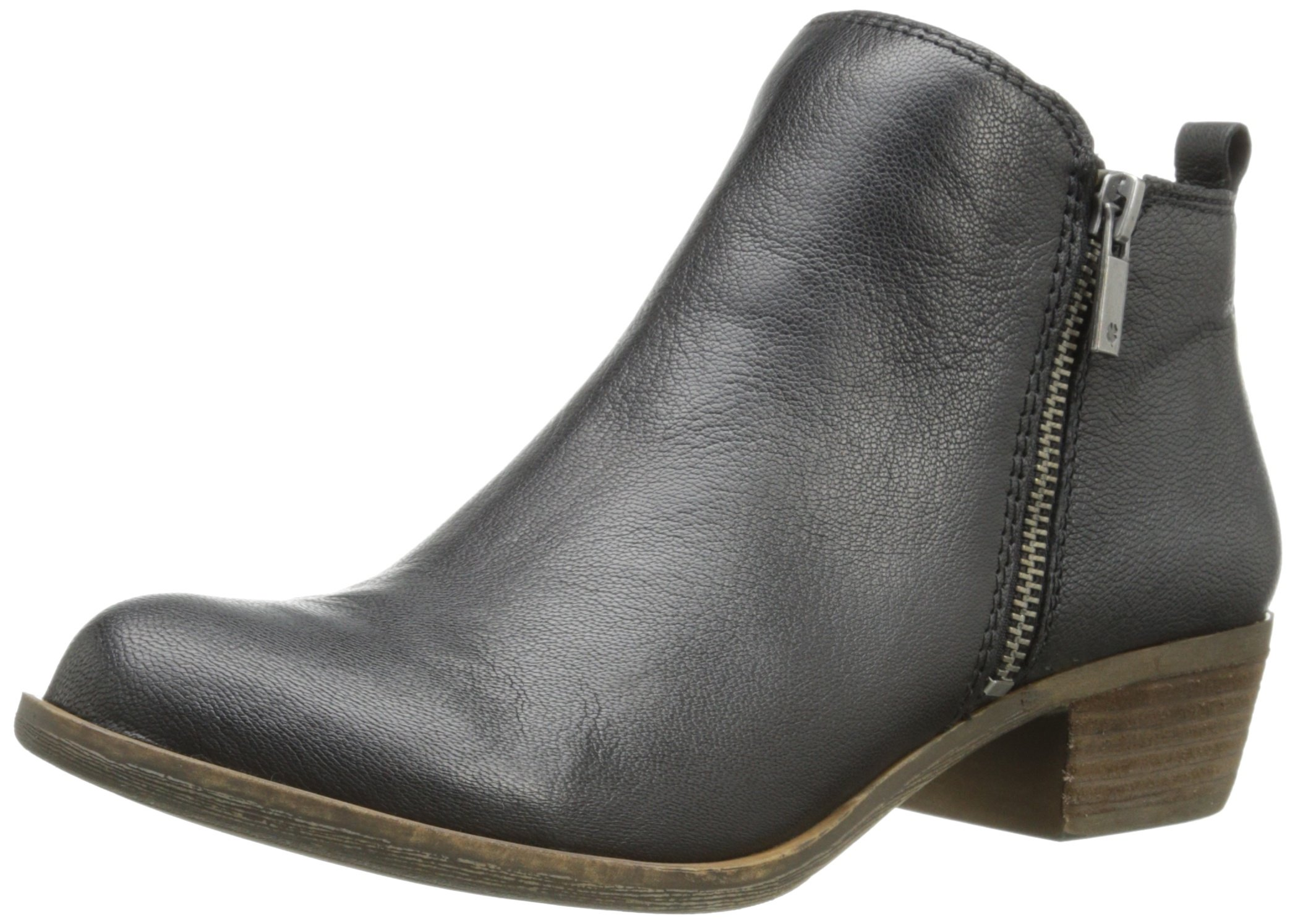 Lucky Brand  Women's Basel Boot, Black 03, 9 M US