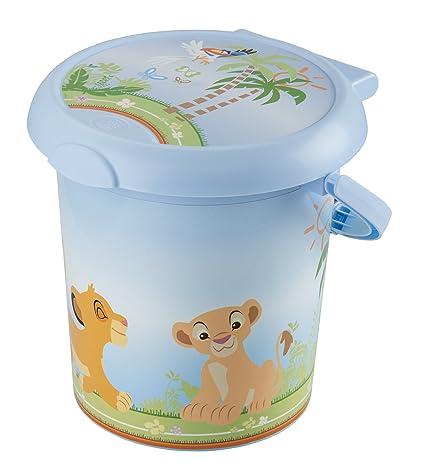 Rotho Babydesign - Cubo para pañales diseño de El Rey León