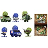 Awesome Little Green Men 547464E4C Assorted Deluxe Battle Pack (8-Piece)