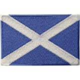Scotland Flag Scottish National Emblem Embroidered Iron On Sew On Patch