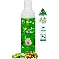 Petway - Puppy Shampoo   Kitten Shampoo   Tearless Hypoallergenic Dog Shampoo for Sensitive Skin, Pet Odor Eliminator…