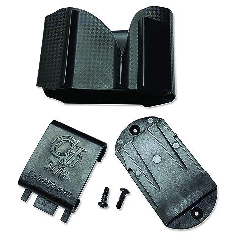 CoJo Car Holster for Vehicle, Under Steering Wheel, Under Dash, Console,  Glove Box, ATV, UTV, Golf Cart, Night Stand, Closet, Desk,
