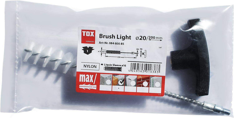1 piezas 08460085 TOX Cepillo de limpieza Brush Light M8 x M10