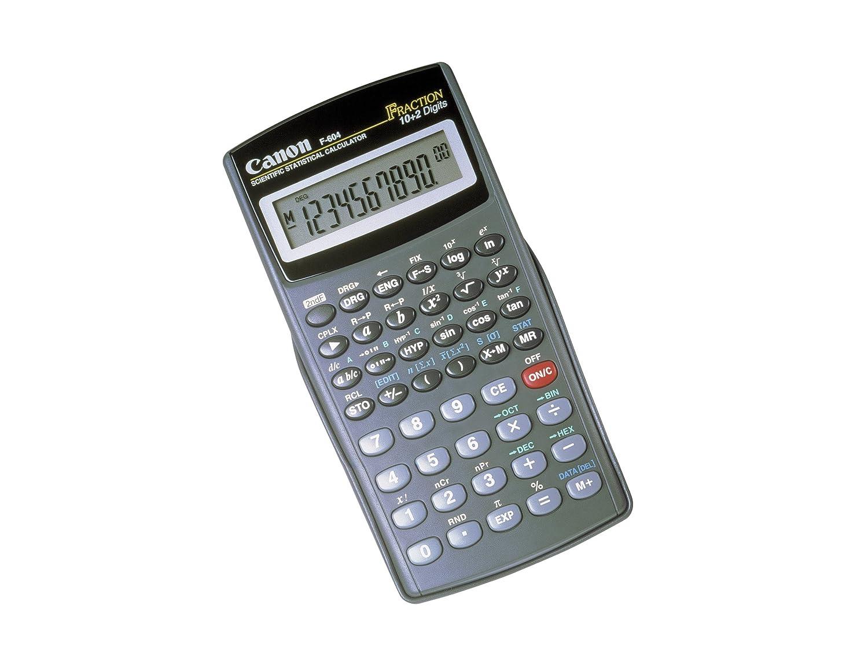 Canon F 604 Calcolatrice 7102A010AA 7102A012AA