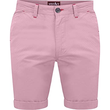1d09f50340 WestAce New Mens Slim Fit Stretch Cotton Chino Shorts Summer Casual Smart:  Amazon.co.uk: Clothing