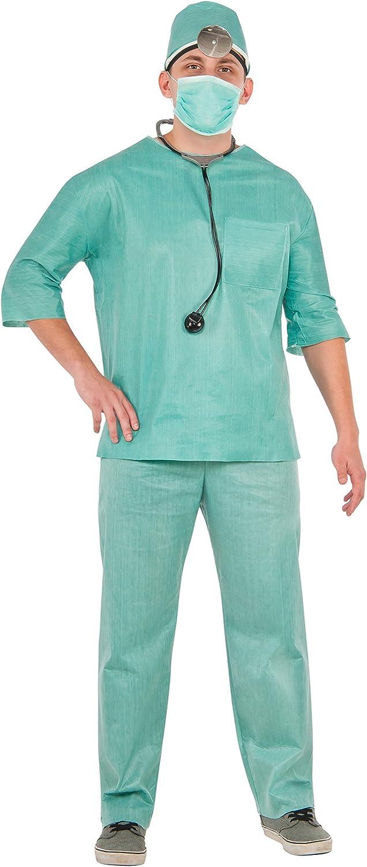 Rubies 15326STD - Disfraz de médico para hombre: Amazon.es ...