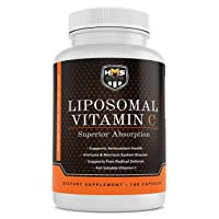 HMS Nutrition Premium 1600mg Liposomal Vitamin C - Fat Soluble Immune System Booster...