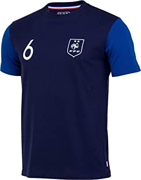 Selección de Fútbol de Francia FFF – Paul Pogba – Camiseta Oficial ...