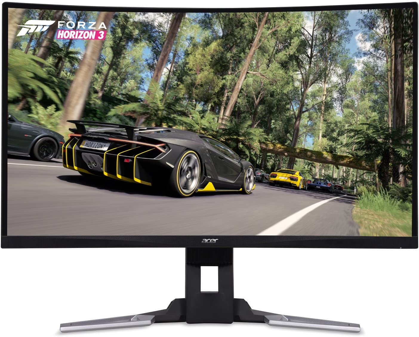 "Acer XZ321QU bmijpphzx 31.5"" Curved WQHD (2560 x 1440) Monitor with AMD FREESYNC Technology 