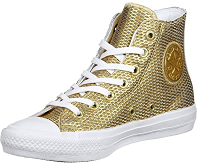 bc81a59b4dca Converse Chuck Taylor All Star Hi Gold white white Gold White White Medium    8.5 B(M) US  Buy Online at Low Prices in India - Amazon.in