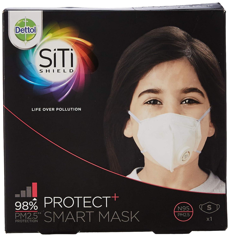 Unisex Dettol Shield Anti-pollution Smart Protect Mask N95 Siti