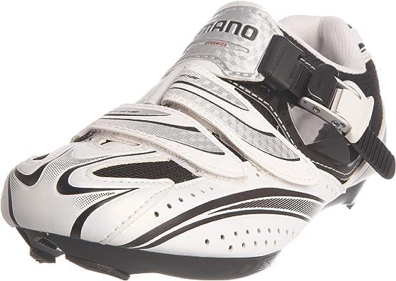 SHIMANO R087 - Zapatillas de Ciclismo para Hombre Blanco ...