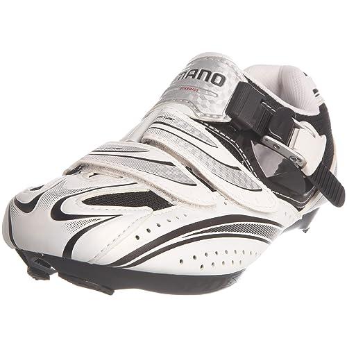 SHIMANO R087 - Zapatillas de ciclismo para hombre blanco blanco/negro Talla:6.5 UK/EU 41: Amazon.es: Zapatos y complementos