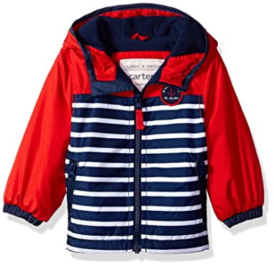 3e6875aa01ef4 Carter's Baby Boys' Toddler Fleece Lined Perfect Midweight Jacket, ...