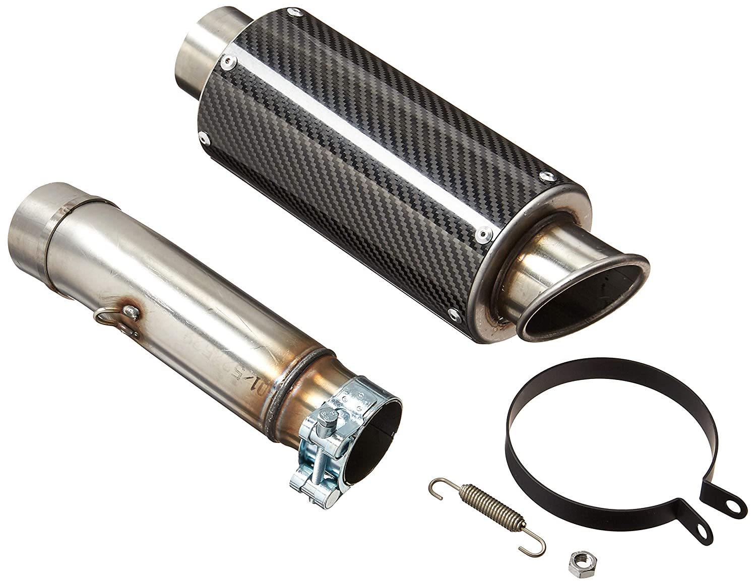 Hotbodies Racing 60801-2400 Carbon Fiber Slip-On MGP Exhaust Canister