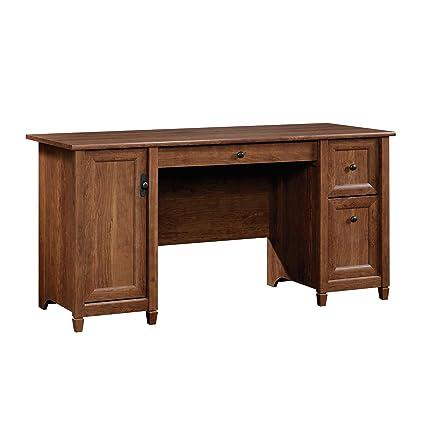 Genial Sauder 419395 Computer Desk, Auburn Cherry