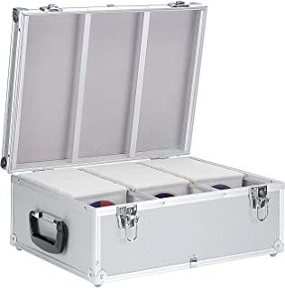 Neopren Lange Lebensdauer Möbel & Wohnen Dj Cd-koffer Alukoffer Für 60 Cds Mit Schlüssel Dj Case Box Innenraum