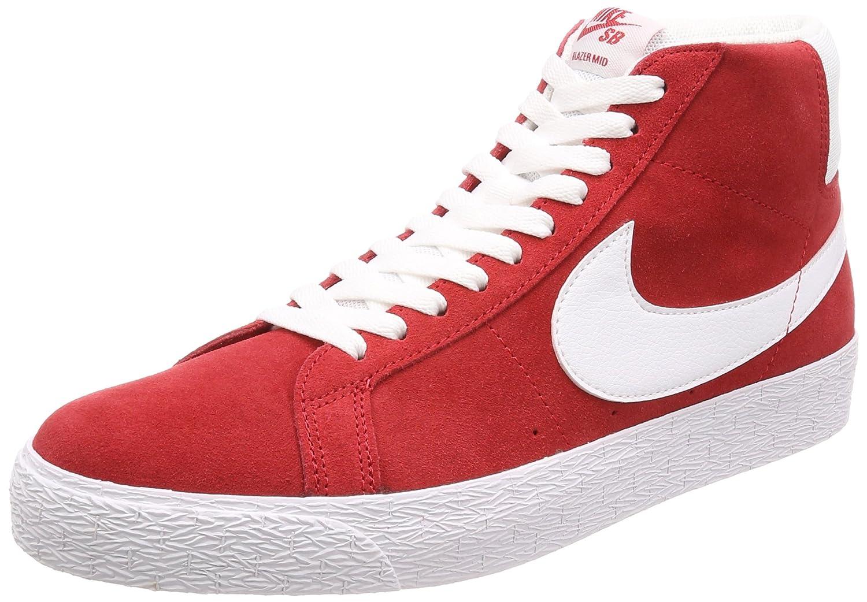 NIKE Men's SB Zoom Blazer Mid Skate Shoe 5 D(M) US|University/Red/White