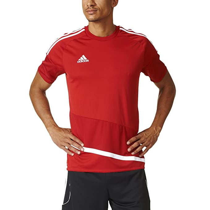 new product 1ee8c ad2c5 adidas Regista 16 Mens Soccer Jersey S Power Red-White