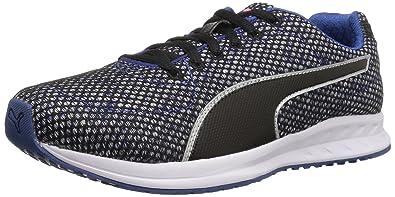 9189557b310 PUMA Women s Burst TECH WN s Cross-Trainer Shoe True Blue Black White