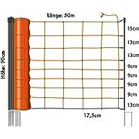 Eider Primus Schafnetz in 90cm / 108 cm ( 1 Spitz und 2 Spitz ) 50 m lang - Agilitynetz in Top Qualität