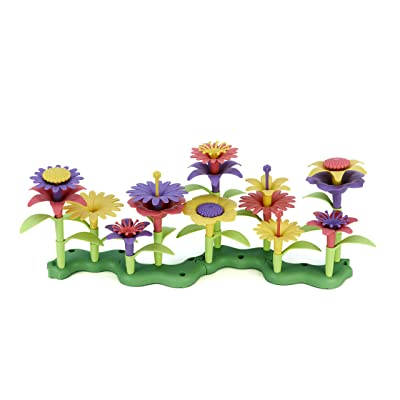 Green Toys Build-a-Bouquet Floral Arrangement Playset - BPA Free, Phthalates Free, Creative Play Toys for Gross Motors, Fine Motor Skill Development. Toys and Games: Toys & Games