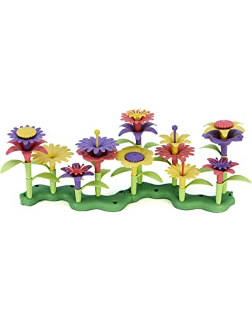 Green Toys Build-a-Bouquet Floral Arrangement Playset - BPA Free 8e9a9ba89d689