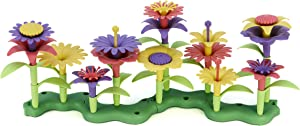 Green Toys Build-a-Bouquet Floral Arrangement Playset - BPA Free, Phthalates Free, Creative Play Toys for Gross Motors, Fine Motor Skill Development. Toys and Games