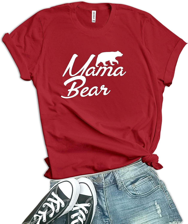 Mama Bear Shirt - Momma Bear Shirts for Women
