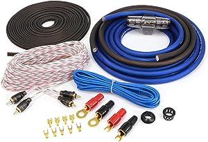 KnuKonceptz KCA Complete 4 Gauge Amp Installation Kit