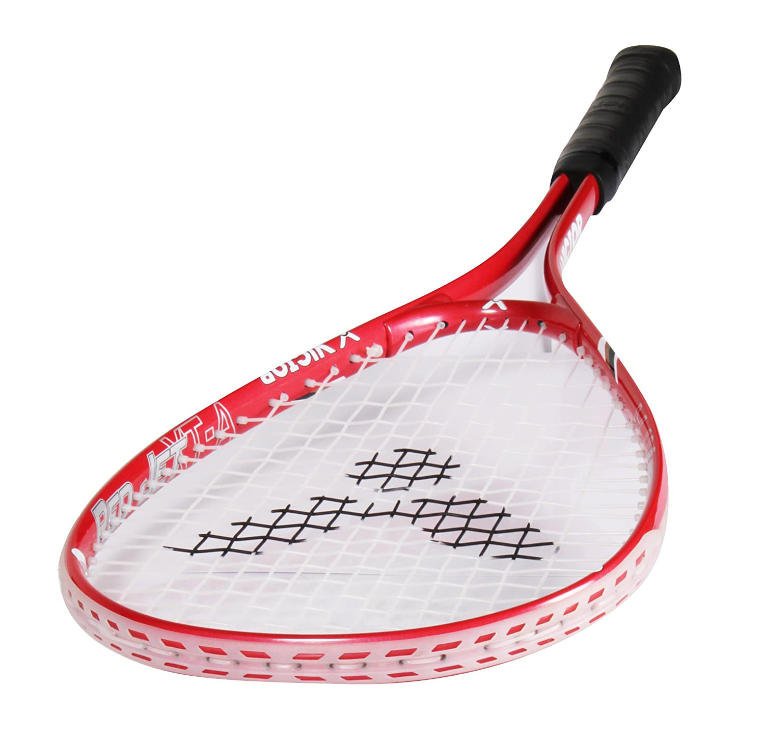 White//Red Victor Red Jet XT-A Squash Racket