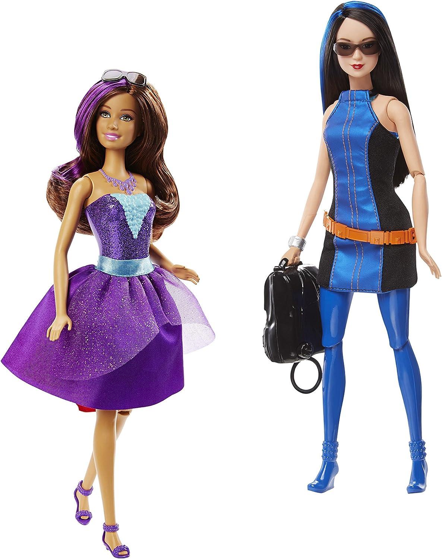 Amazon.es: Barbie - Muñeca Teresa o Renee espía, 23 x 33 cm (Mattel DHF06), surtido: modelos aleatorios: Juguetes y juegos