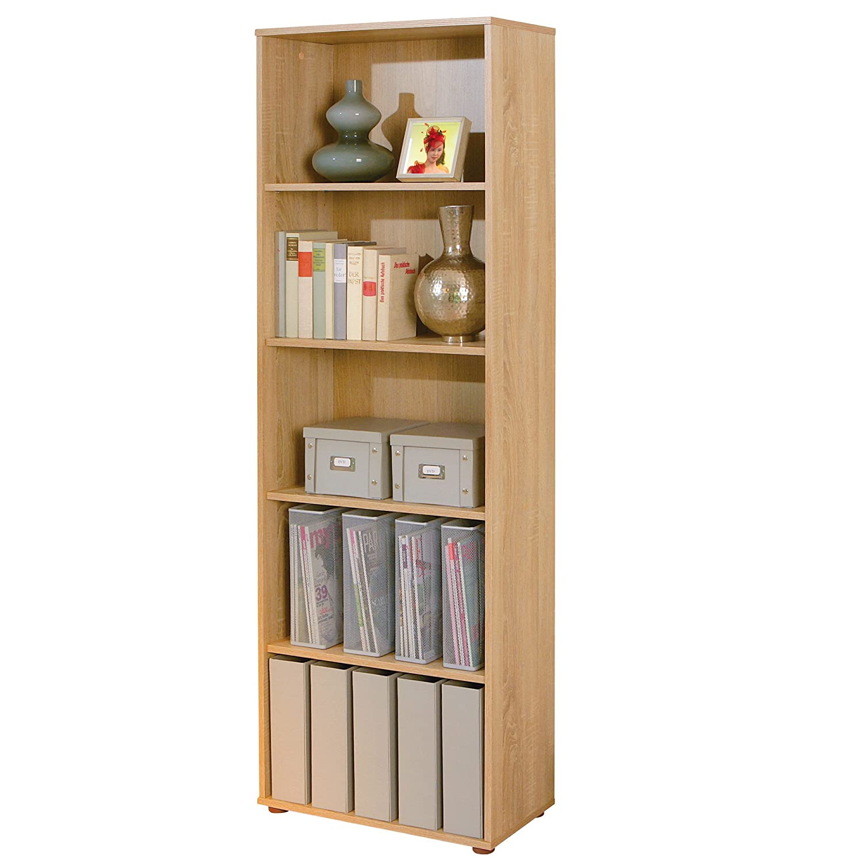 Links - Simply A9 - Libreria. Dim: 60x30x75 h cm. Col: Bianco. Mat: Nobilitato. 13500010 F00010301001_WHITE