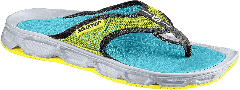 1be12212032 Salomon - Rx Break - Tongue - Homme - Gris (Pearl Blue Safety Yellow Blue  Bird) - 43 1 3 EU  Amazon.fr  Chaussures et Sacs