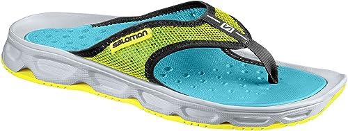 RX Break, Zapatos de Playa y Piscina para Hombre, Azul (Pearl Blue/Safety Yellow/Bluebird 000), 40 2/3 EU Salomon