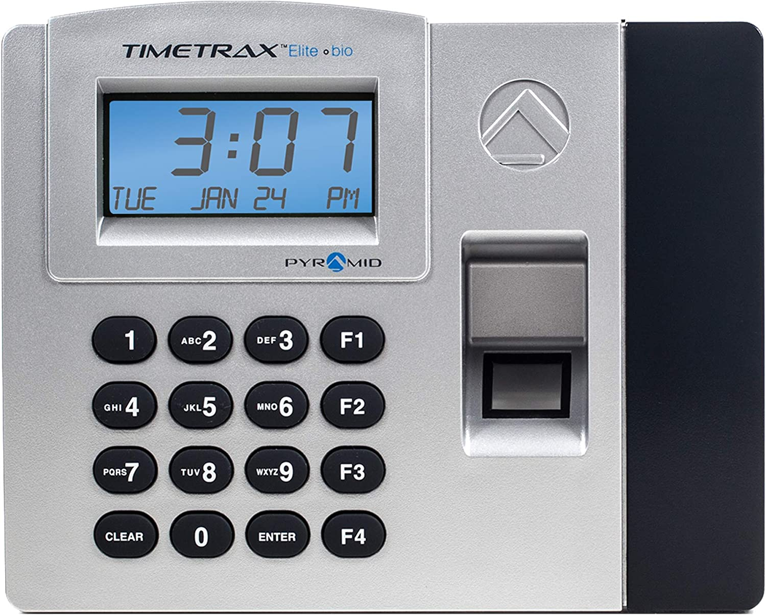 Pyramid TimeTrax Elite TTELITEEK Automated Biometric Fingerprint Time Clock System with Software, Windows Compatible - Made in USA