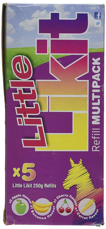Likit Little Multipack Refill Apple//Cherry//Banana//Carota Confezione da 5