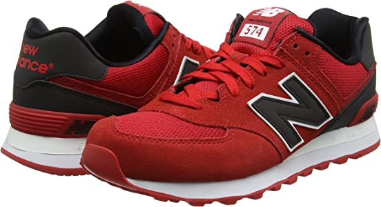 new balance 574 rojas hombre