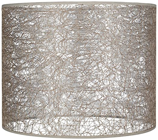 Transparent fiber lace lamp shade 14x14x11 spider lampshades transparent fiber lace lamp shade 14x14x11 spider aloadofball Image collections