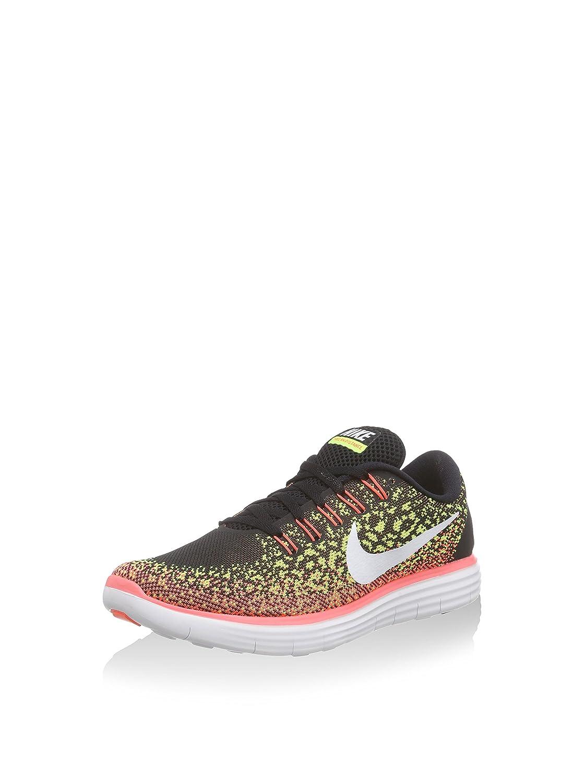 chic Nike Womens Free Rn Distance BlackWhiteVoltHot Lava