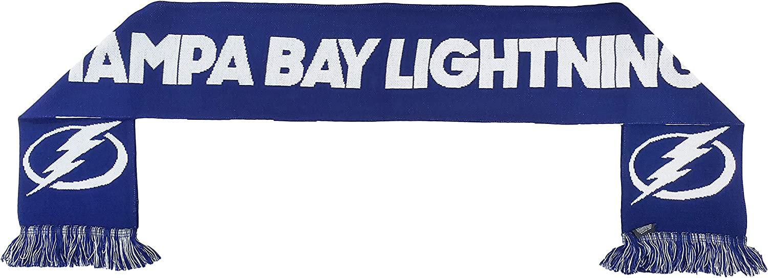 Amazon Com Ruffneck Nhl Home Team Jersey Scarf Tampa Bay