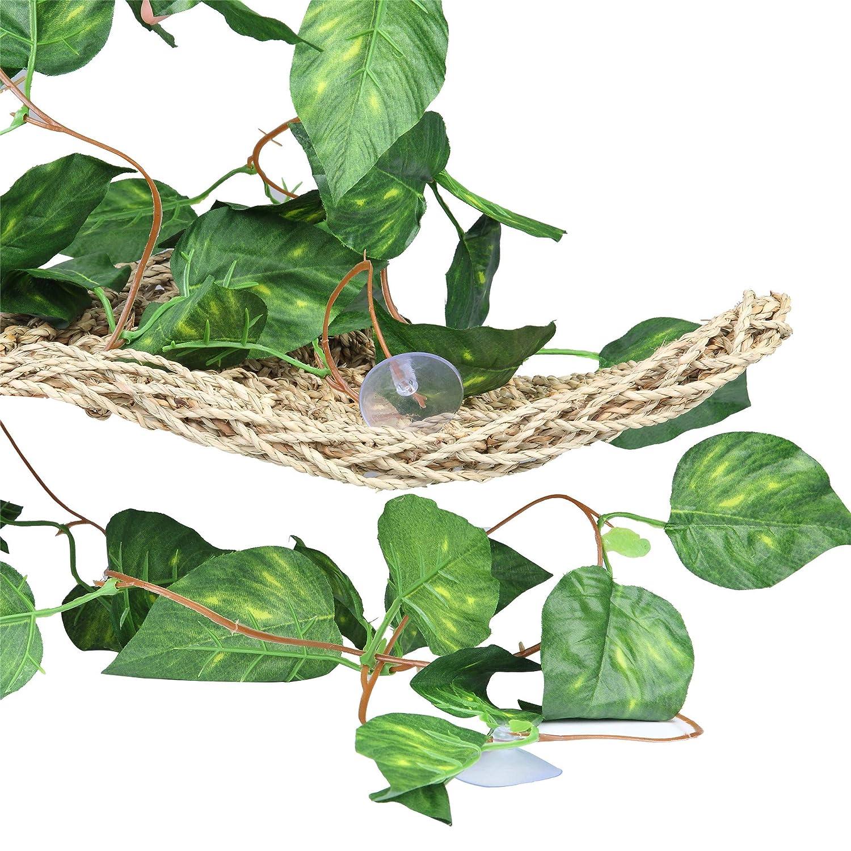 Scindapsus Slson Repta Vines Silk Reptile Vine Fake Jungle Terrarium