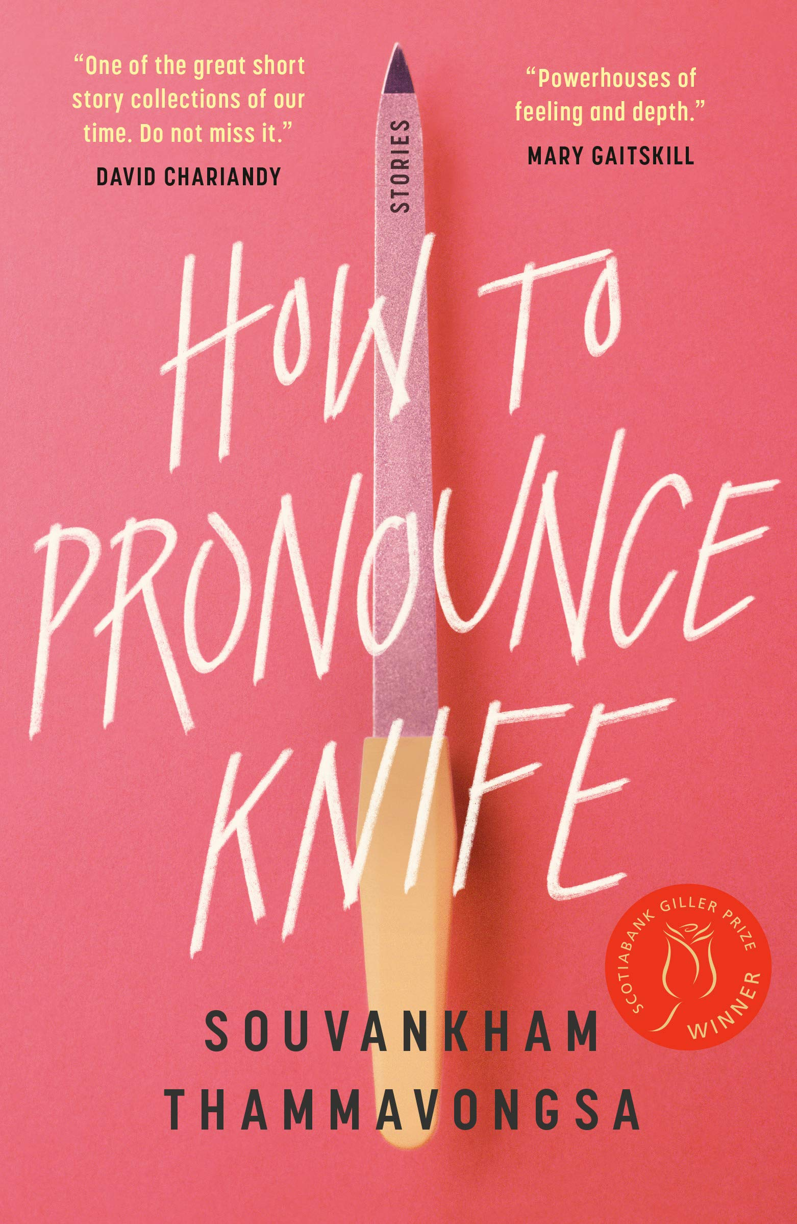 How to Pronounce Knife : Thammavongsa, Souvankham: Amazon.ca: Books